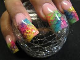 rockstar nails fingers and toes pinterest ties tie dye and