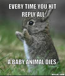 Reply All Meme - reply all baby animal memes fml replied all again