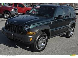 2006 green jeep liberty 2006 deep beryl green pearl jeep liberty sport 4x4 56398305