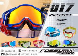 jual goggle motocross 100 racecraft goggles 2017 rossymx com motocross shop