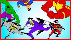 lego spiderman batman hulk fantastic four coloring book just
