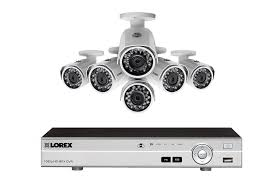 Interior Home Surveillance Cameras by Hd 1080p 8 Channel 4 Camera Security System Lorex