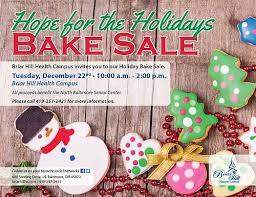 hope for the holidays bake sale thenbxpress com