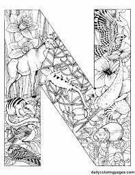 letter coloring pages free 32 best color art therapy letters and numbers images on