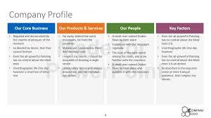 company profile samples company profile example company profile