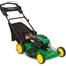 best john deere js38 self propelled rear wheel drive mower for