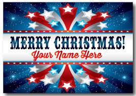 patriotic christmas cards patriotic merry christmas postcard pc640 harrison greetings
