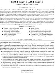 Photo Editor Resume Sample by Editor Resume Sample U0026 Template