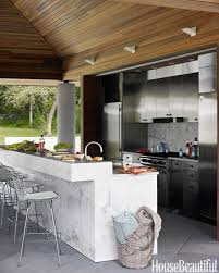 How To Design An Outdoor Kitchen Outdoor Kitchen Bar Designs Trends With Design Ideas And Picture