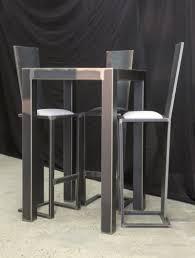 table haute cuisine design table haute design table haute mange debout pas cher unique