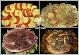 cuisiner une rouelle de porc rouelle de porc aux tomates et p de terre en mijoteuse ou au four