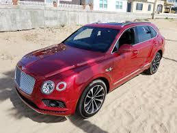 bentley bentayga red interior buy a bentley bentayga just please don u0027t paint it red