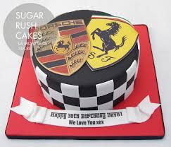 stuttgart car logo sports car emblem cake sugar rush cakes montreal