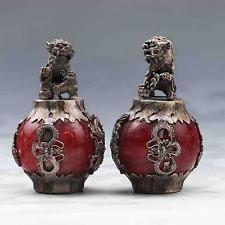 jade lion statue tibetan antique figurines statues ebay