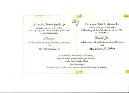 Christian Marriage Invitation Card Wordings Wedding Invitations Samples Philippines Matik For