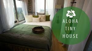 Aloha Furniture by Aloha Tiny House Featuring Pergo Bamboo Laminate Flooring