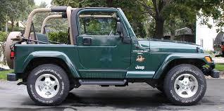 wrangler jeep green mark hatle