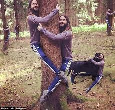 Hippie Woman Meme - jared leto can t stop hugging trees as he posts another snap daily