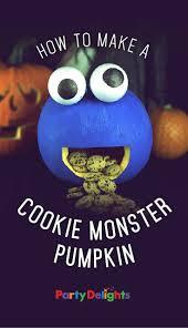 the 25 best cookie monster pumpkin ideas on pinterest spooky