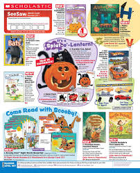 halloween sticker books the ghosts of halloweens past scholastic book club flyer