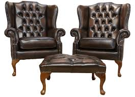 Leather Queen Anne Chair 16 Queen Anne Leather Chair Carehouse Info