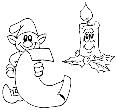 santas list coloring christmas coloring pages