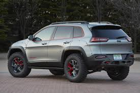 jeep sports car concept have a look at the jeep cherokee dakar concept the fast lane car
