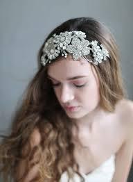 bridal headband wedding headpiece dreams floral bridal headband