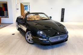 how to work on cars 2006 maserati gransport electronic valve timing 2006 maserati gransport spyder stock 7nl02478b for sale near