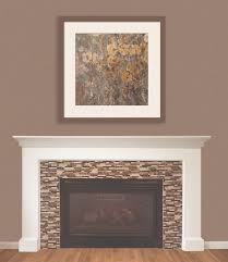peel and stick tiles to update a fireplace smart tiles