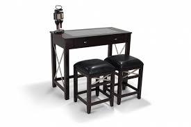 Wine Bar Table Newbury Wine Bar With Backless Bar Stools Bob U0027s Discount Furniture