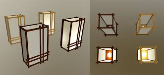 japanese style lowpoly lamps package u2013 flatriver