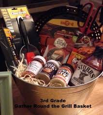 grilling gift basket auction grade baskets diemer pta