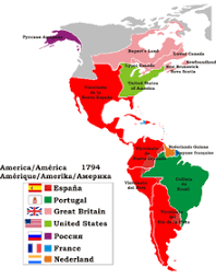 america map european colonization of the americas