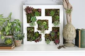 How To Make A Succulent Wall Garden by Ikea Lack Table Hack To Succulent Vertical Garden