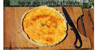 que cuisiner avec des carottes quiche aux carottes et chèvre recettes de cuisine avec thermomix