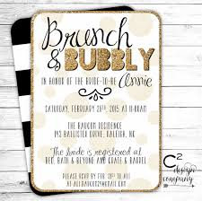 brunch bridal shower invites brunch bubbly bridal shower invitation 2249940 weddbook