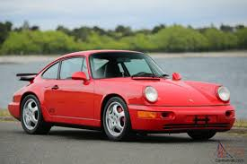 porsche 964 red 964 rs america coupe 2 door