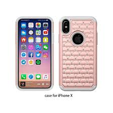 pink star diamond factory price pc u0026tpu star diamond combo mobile phone case for