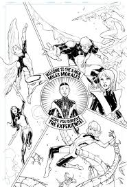 is ultimate spider man joining the all new x men the conmunity