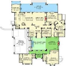 center courtyard house plans plan 16365md center courtyard views courtyard house plans