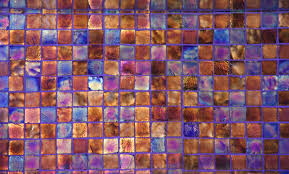 glass texture pearlescent shine tile wall metallic surface photo blue orange jpg