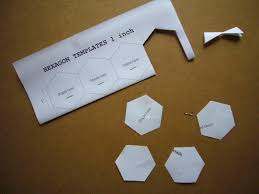 3patchcrafts hexagon template for english paper piecing