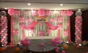 balloon decoration for birthday at home in bangalore home decor 2017