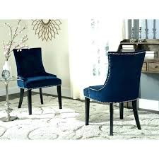 Blue Upholstered Dining Chairs Velvet Upholstered Dining Chairs Ameliememo Info