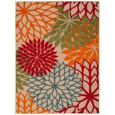 Jute Outdoor Rugs Miraculous Multi Colored Outdoor Rugs Of The Home Depot Home