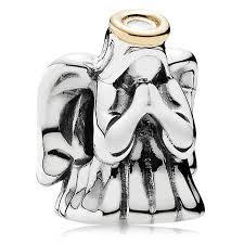 pandora sterling silver 14kt gold charms pancharmbracelets