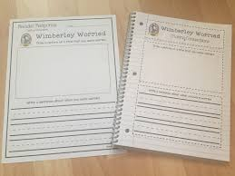 Wemberly Worried Worksheets Firstie Favorites Daily 5 Setting Students Up For Read To Self