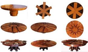 expandable table beautiful expandable round dining table plans photos liltigertoo