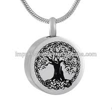 cremation urn jewelry tree of cremation urn jewelry necklace pendant for ashes w